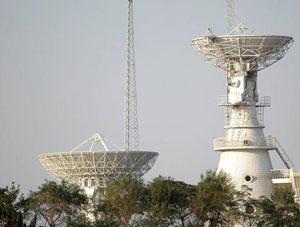 国家天文台喀什测轨站
